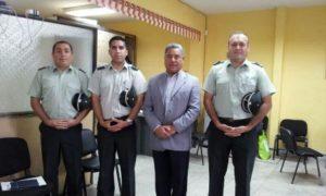 Anop Arica y Dip. Orlando Vargas