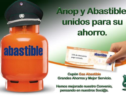 Abastible y ANOP mejoran descuentos en Gas licuado.