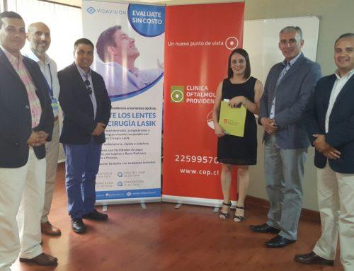 Clínica Oftalmológica Vida Visión & ANOP firman convenio