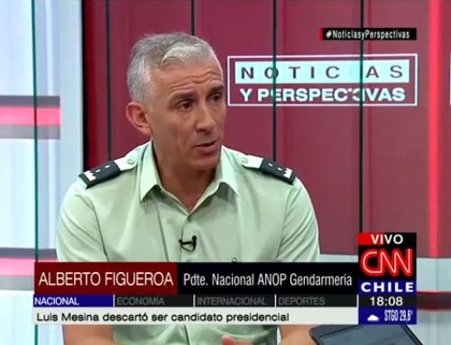 Presidente ANOP aborda problemática de pensiones y otras materias en CNN.