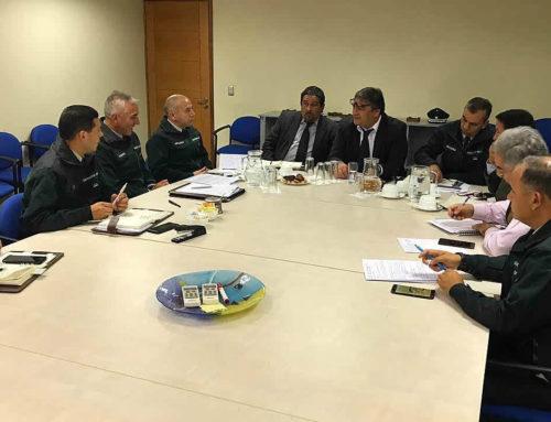 Directiva Nacional se reúne con Director Nacional, SAF y Director de la Escuela Institucional.